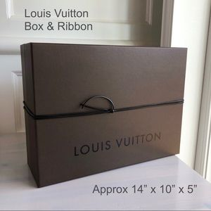 Louis Vuitton - Empty Box & Ribbon (Medium)
